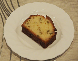 かぼすのケーキ1910