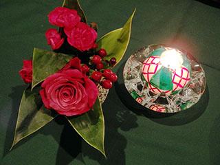 花とキャンドル1911