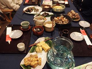 正月のテーブル2001