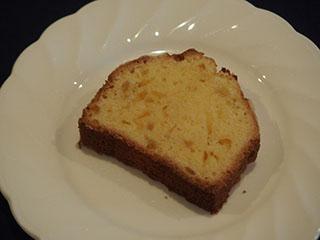 柚子のクランブルケーキ2001