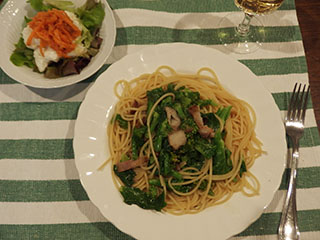 菜の花のペペロンチーノ2003