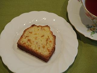 甘夏ケーキとお茶2005