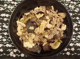 筍の中華風炒め1