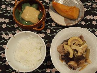 筍の中華風炒め2