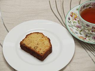 柑橘類のケーキとお茶2007