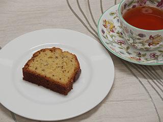 シードケーキとお茶2007
