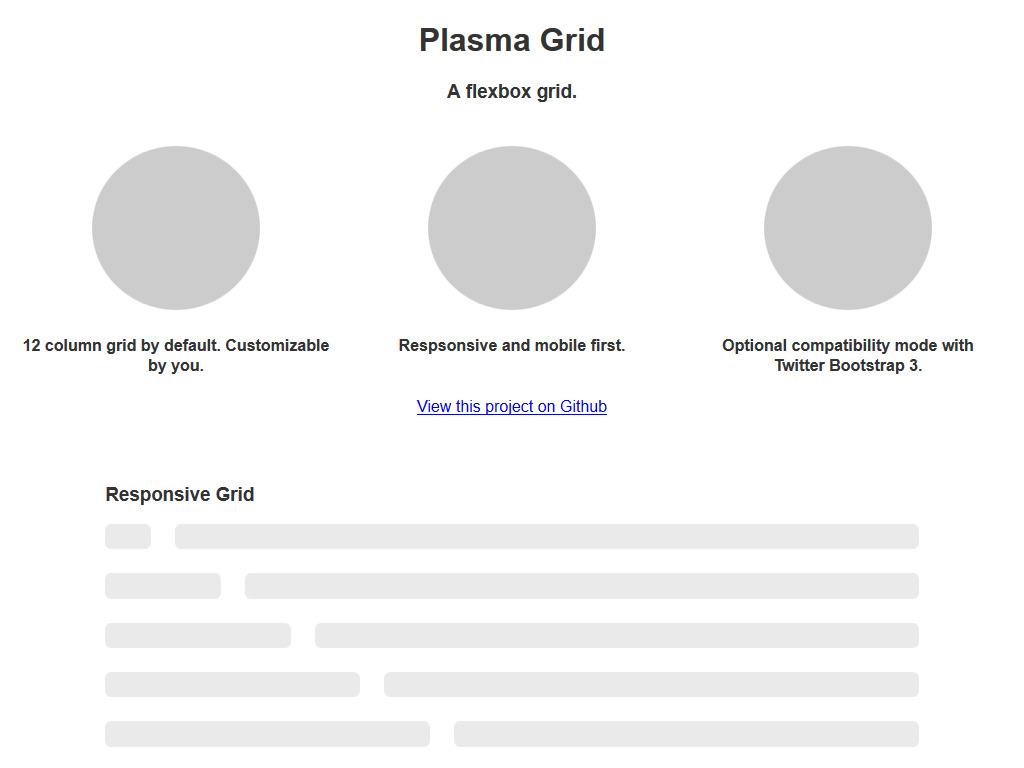 Plasma Grid  A Flexbox Grid