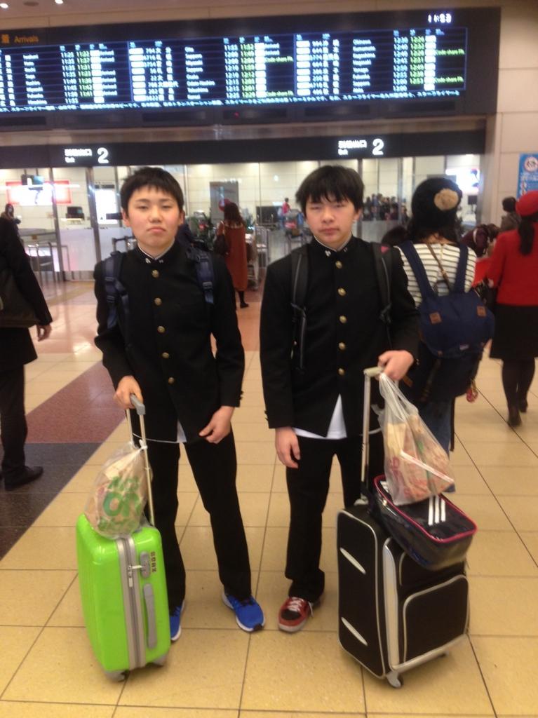 羽田空港です