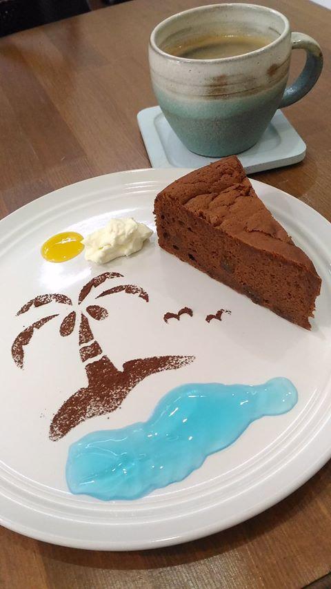 8月の薬膳ケーキ