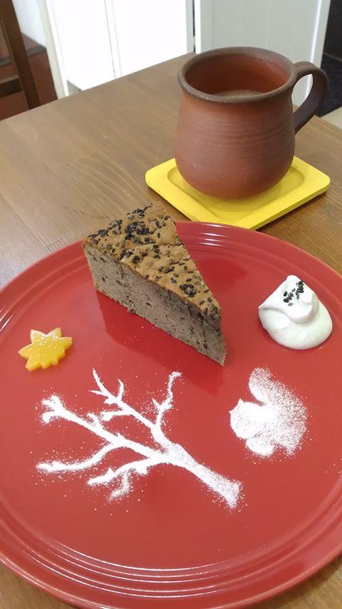 薬膳ケーキ