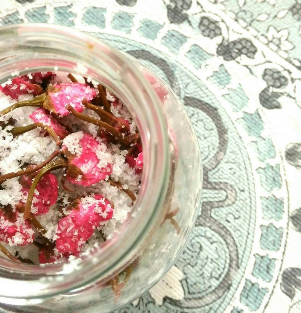 薬膳「桜の塩漬け」