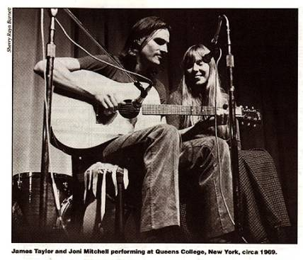 Joni Mitchell & James Taylor