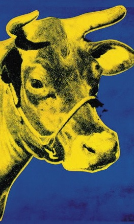 Cow-Yellow-on-Blue-1971