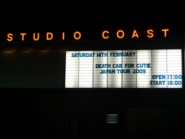 Deathcab@StudioCoast
