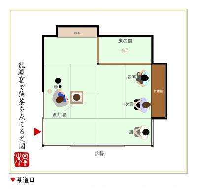 『茶室の間取り』の知識   日本の綺麗を楽しむイン …