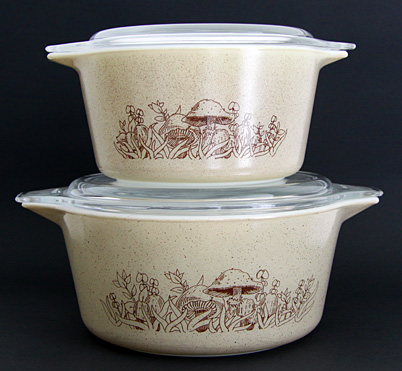 Pyrex Forest Fancies Casserole Dishes