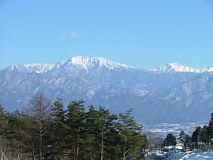 アルプス山脈…綺麗な山です