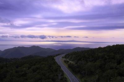 知床峠…国後島2