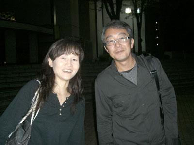 佐野さんと笠松さん