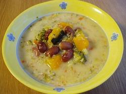 金時豆のスープ