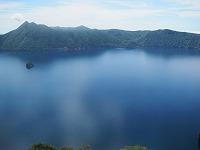 快晴の摩周湖