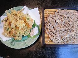 海鮮と野菜のかき揚げせいろ