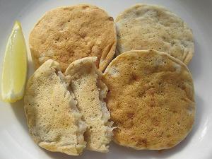 米粉バナナドロップケーキ