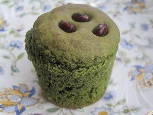 米粉の抹茶マフィン
