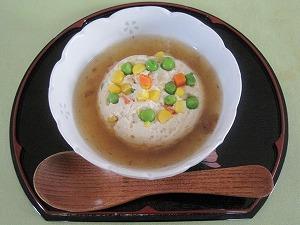 お豆腐の蒸し物