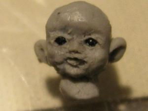 miniature bisuque doll