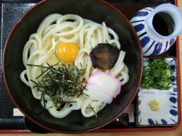 麺の旅歌のブッカケうどん(冷)