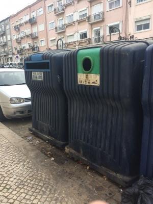 リスボンのゴミ箱