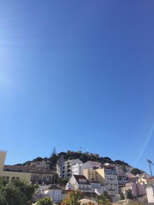 リスボンの空