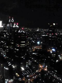 東京都庁の夜景♪