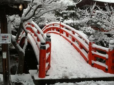 2010年12月31日の積雪