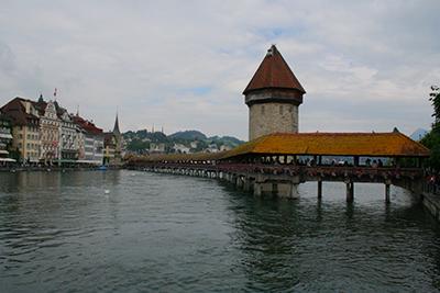 ルツェルンの橋