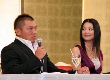 小池栄子.(26)とプロレスラーの坂田亘