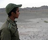 イラン南東部シスタン・バルチスタン州からパキスタン側を望む