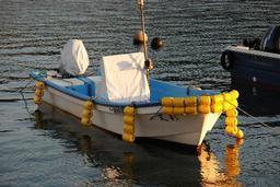 馬込容疑者が10月に購入したというボート