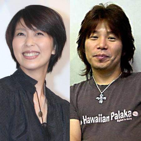女優の松たか子(左)とミュージシャンの佐橋佳幸