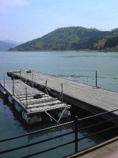 三方五湖−桟橋