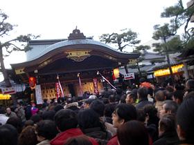 商売繁盛で笹持って来い!京都祇園の十日戎2010