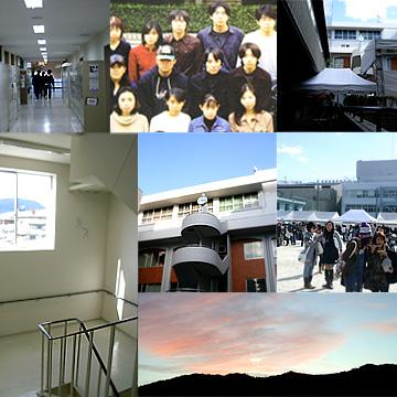 嵯峨美術短期大学時代と似た風景