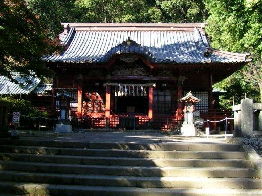 伊豆山神社の拝殿