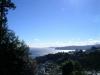 伊豆山神社から海を眺める