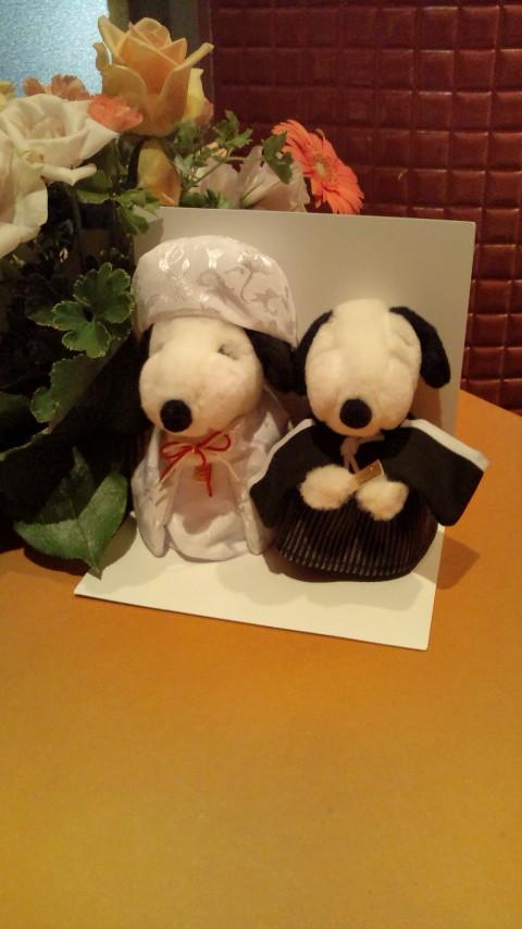 ピースヌ夫妻。