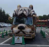 富士サファリパーク 園内バス