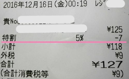東急ストア 5日・15日の5%OFF 日にちをまたぐとどうなる?