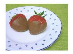 イチゴ + チョコレート