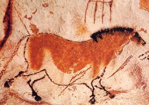 中国の馬、主洞』 at ラスコー洞...